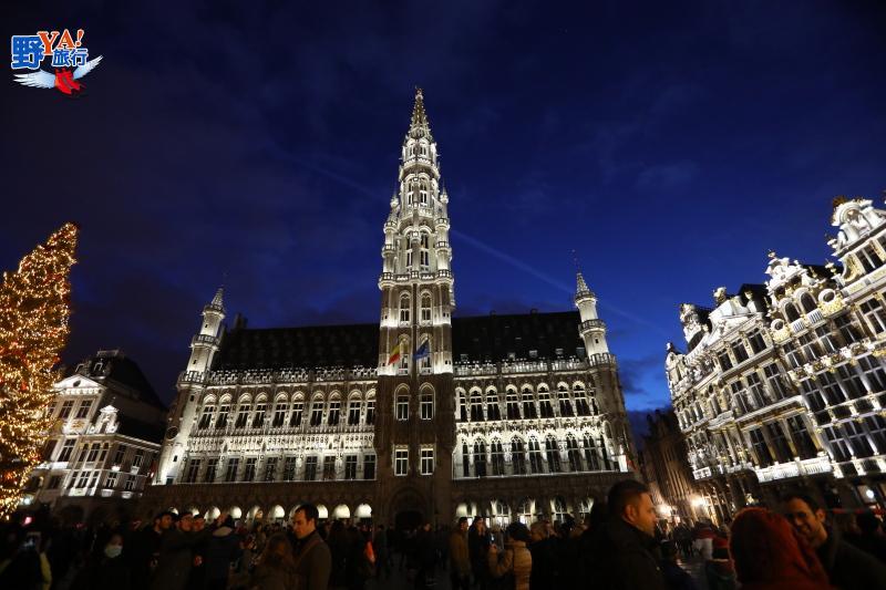 比利時布魯塞爾 看不到金色的黃金大廣場 @YA 野旅行-旅行不需要理由