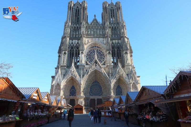 法國香檳亞丁省漢斯聖母院-逛耶誕市集找尋微笑天使 @YA 野旅行-旅行不需要理由
