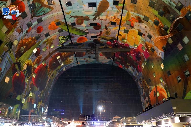 全球最炫的菜市場-鹿特丹時尚市集markthal rotterdam @YA 野旅行-旅行不需要理由