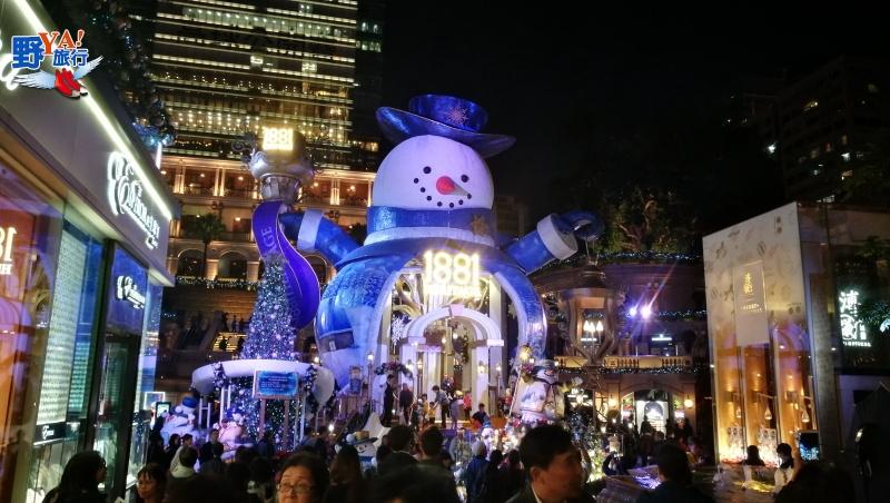 幻彩詠香江越夜越美麗,香港耶誕歡樂盛典 @YA 野旅行-旅行不需要理由