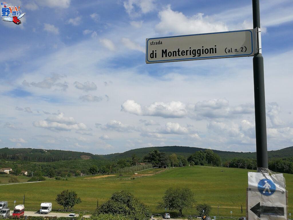 蒙特里久尼Monteriggioni @YA 野旅行-旅行不需要理由