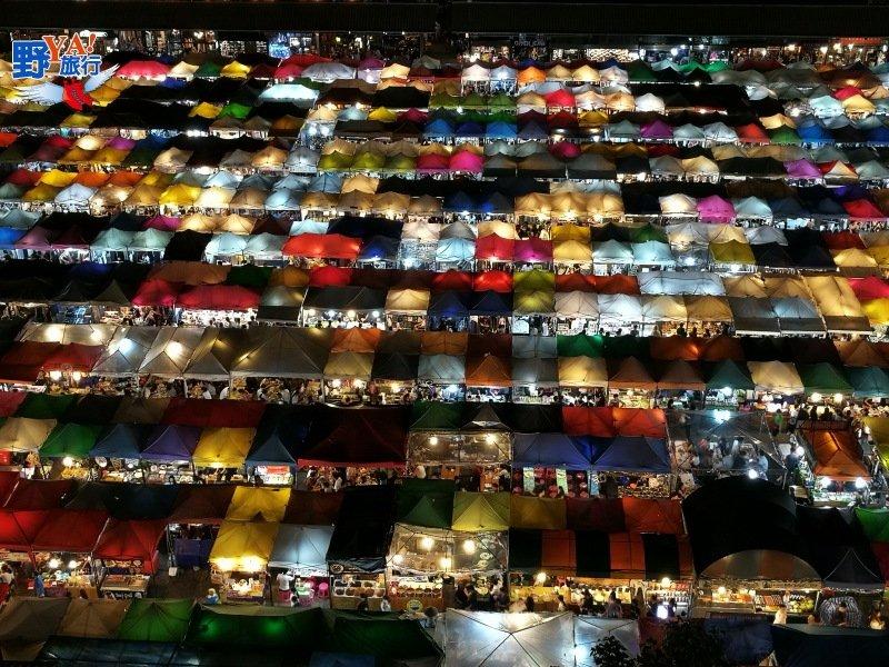 泰好吃泰好逛泰好買,曼谷最美夜市在這裡 @YA 野旅行-旅行不需要理由