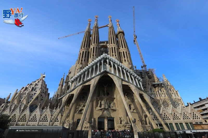 屬於上帝的建築La Sagrada Familia-巴塞隆納聖家堂 @YA 野旅行-旅行不需要理由