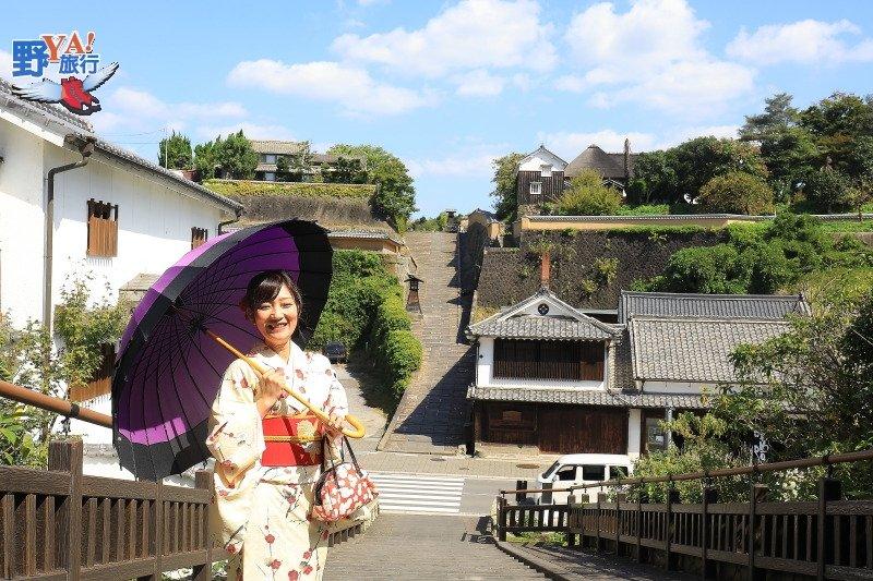 九州豐後路小京都,杵築城下町和服散策 @YA 野旅行-旅行不需要理由