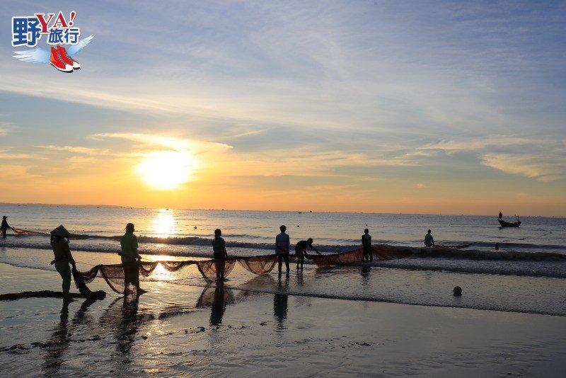 美奈海濱戲水看日出,有趣的越南傳統捕魚技法 @YA 野旅行-旅行不需要理由