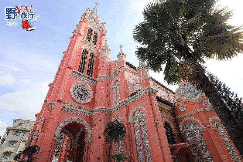 搭乘越航悠遊胡志明市,粉紅色夢幻教堂打卡拍美照 @YA 野旅行-旅行不需要理由