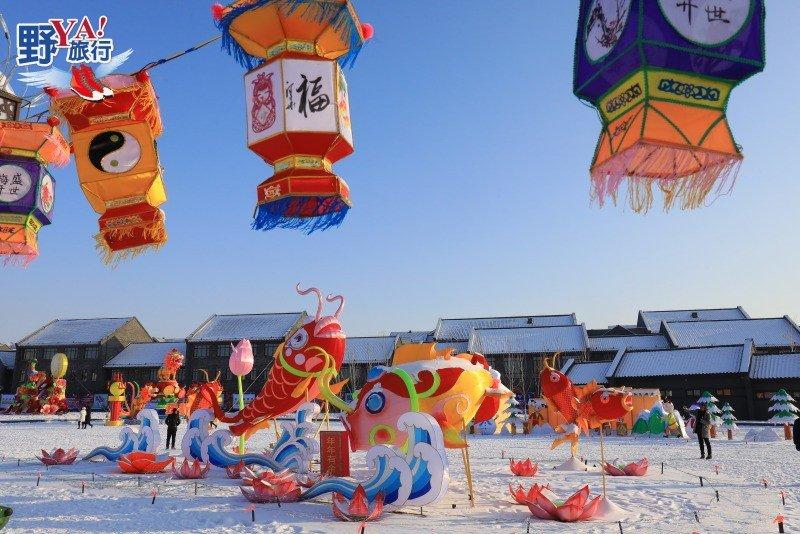 吉林雪博會霧凇冰雪節,體驗冰雪大地的熱鬧氣氛 @YA 野旅行-旅行不需要理由