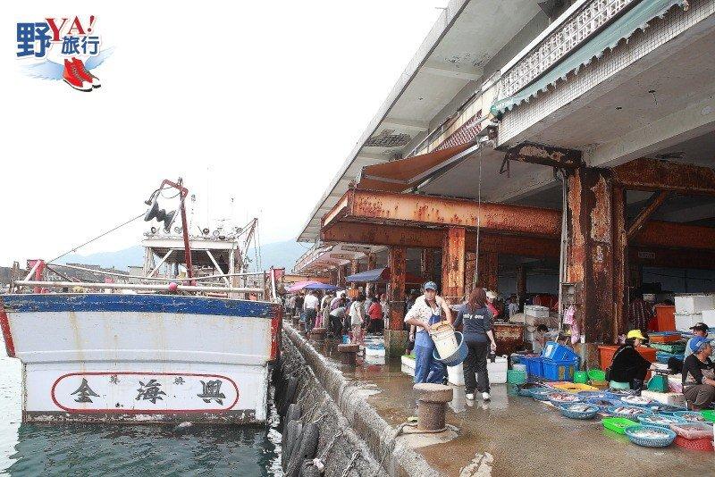 龜山島海鮮上岸 大溪漁港饕客最愛 @YA 野旅行-旅行不需要理由