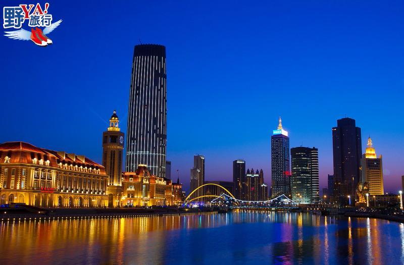一橋一景越夜越美麗 浪漫爆表的天津海河夜景 @YA 野旅行-旅行不需要理由