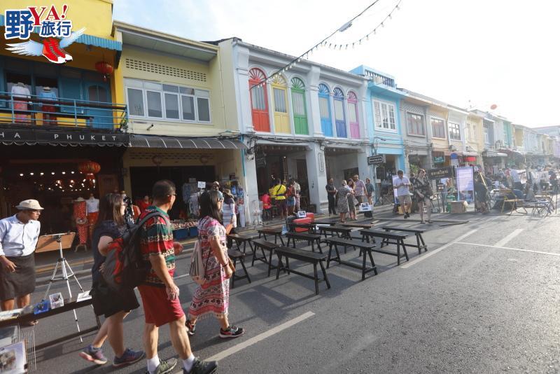 泰國|普吉 參拜泰南最大廟宇查龍寺 逛老街夜市享受普吉悠閒風情 @YA 野旅行-旅行不需要理由