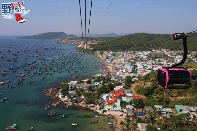 越南|富國島 世界最長三索跨海纜車 空拍機視角唯美海景 @YA 野旅行-旅行不需要理由