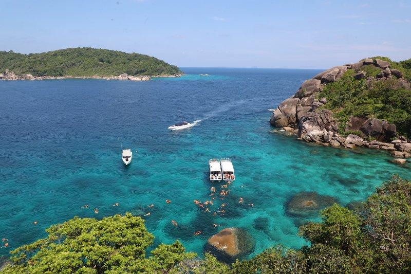 泰國|考拉 斯米蘭島戲水攀牙灣看日出 飽覽泰南山海極景 @YA 野旅行-旅行不需要理由
