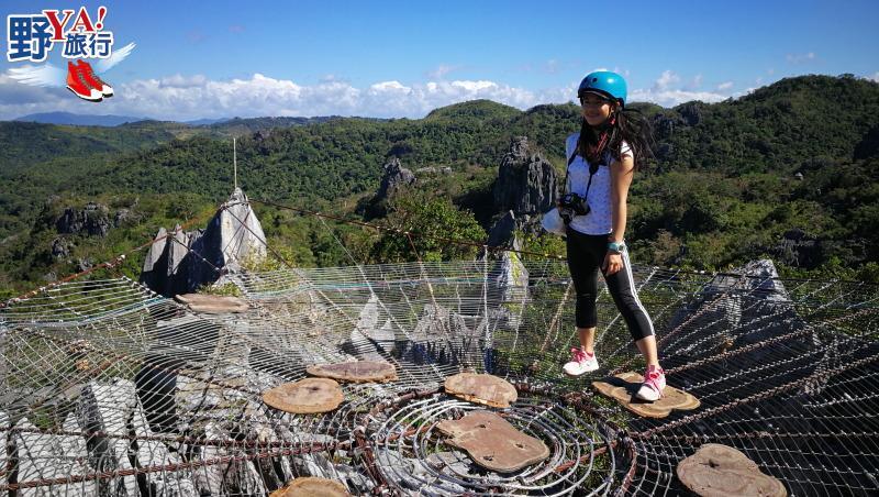 菲律賓|馬尼拉 喀斯特地形當蜘蛛人 甜點博物館找童趣 @YA 野旅行-旅行不需要理由