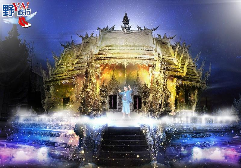 泰國清萊 龍坤寺(白廟)燈光節將於今年11月登場 @YA 野旅行-旅行不需要理由