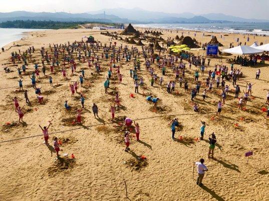 2019福隆國際沙雕藝術季 挑戰金氏世界紀錄-最多人同時創作沙雕大成功 @YA 野旅行-旅行不需要理由