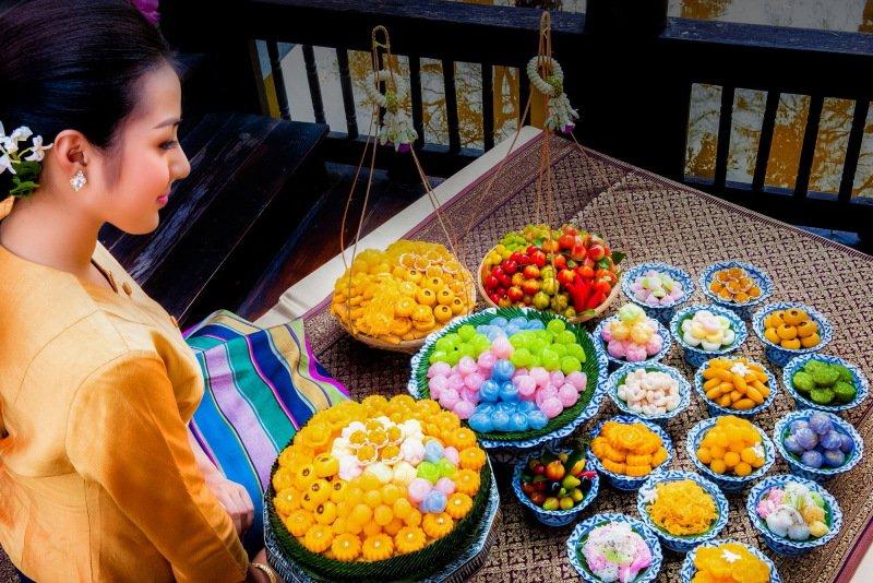 色香味俱佳的正宗泰國皇家點心 @YA 野旅行-旅行不需要理由