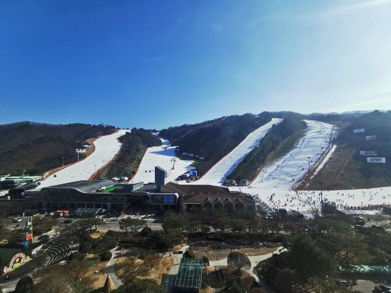 搭乘泰航冬戀韓國 洪川大明百玩地度假村滑雪會上癮 @YA 野旅行-旅行不需要理由