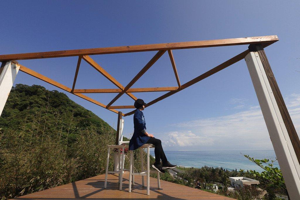 東海岸IG打卡新亮點 花蓮山度空間海景咖啡 @YA 野旅行-旅行不需要理由