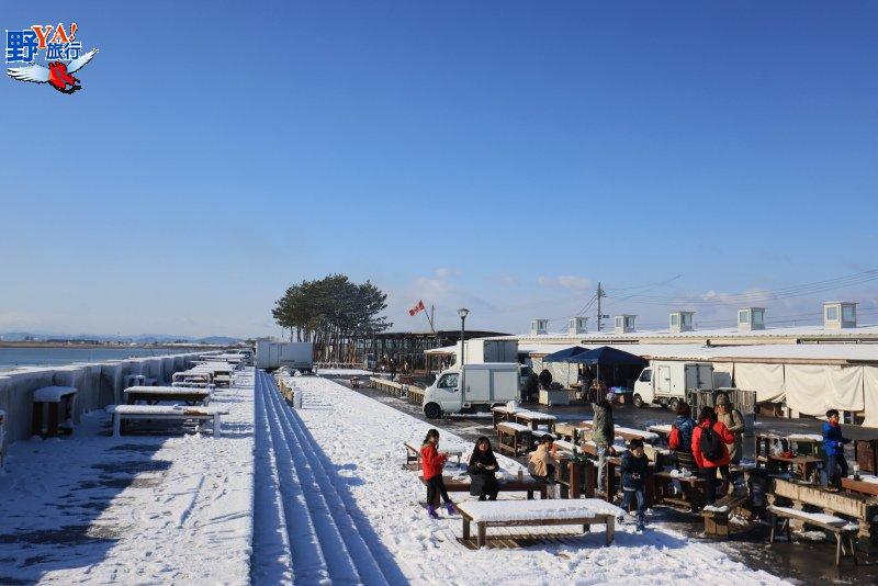 日本東北閖上朝市爐端燒 太平洋現撈海鮮燒烤太銷魂 @YA 野旅行-旅行不需要理由