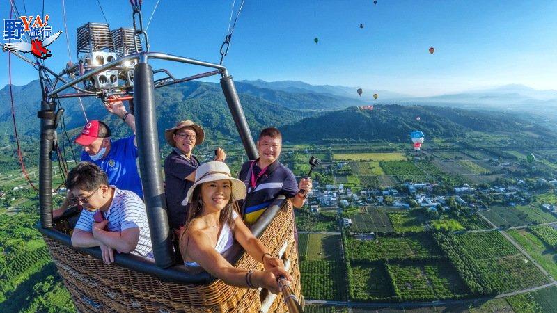 臺灣國際熱氣球嘉年華11日台東揭幕,全球唯一,希望升空! @YA 野旅行-旅行不需要理由