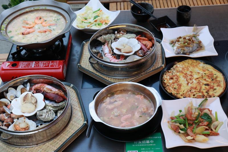 大啖Gosto人氣海鮮塔與螃蟹粥 感受高雄豪邁熱情的餐飲文化 @YA 野旅行-旅行不需要理由